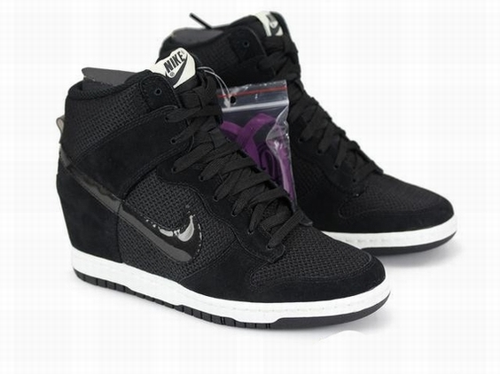 basket nike dunk sky high noir